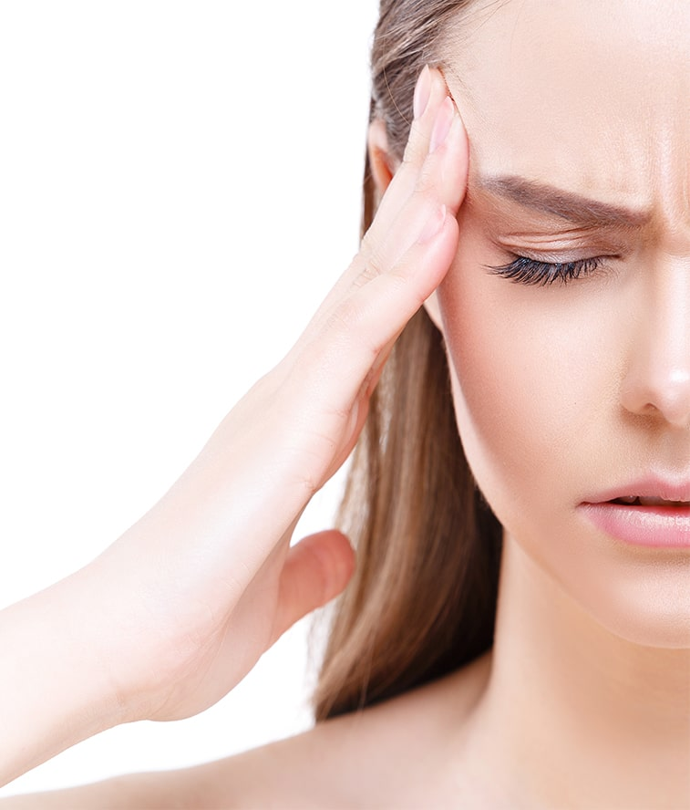 black woman headache